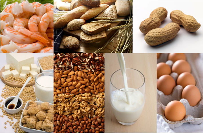 most common food that causes allergy